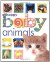 book cover - happy baby animals