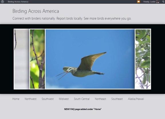 birdingacrossamerica website