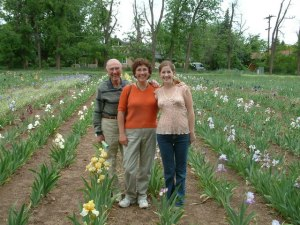 Bill Leslie Karin at Long Iris Gardens