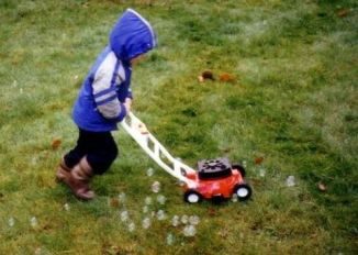 Bubble Lawnmower!