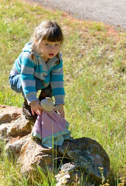 Nora climbing rocks_ColoradoCampground-CO_LAH_2232