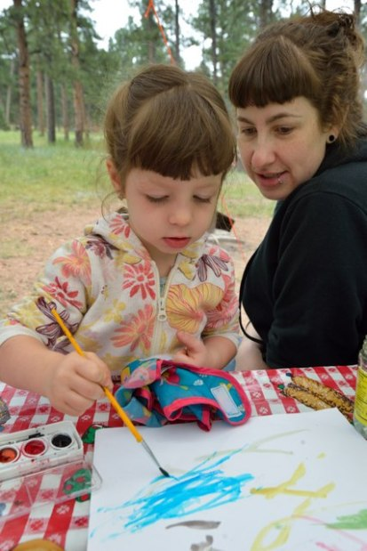 Nora painting_ColoradoCampground-CO_LAH_1561
