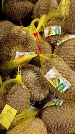 Durian in Asian market