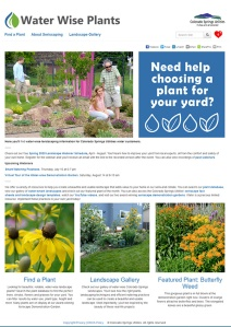 waterwise homepage